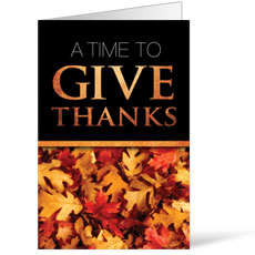 Time To Give Thanks