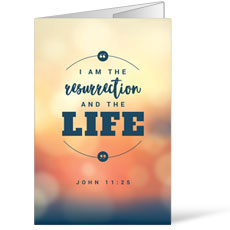 Resurrection and the Life