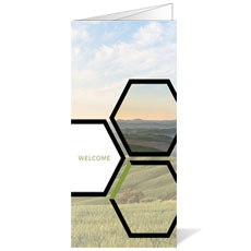 Welcome Hexagon Summer