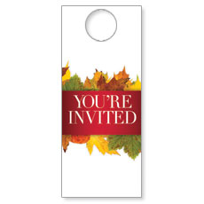 Leaves Youre Invited