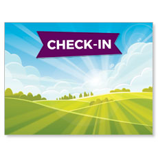 Bright Meadow Check In