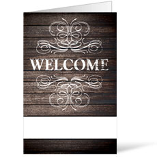 Rustic Charm Welcome