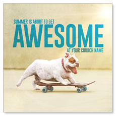 Awesome Summer Dog