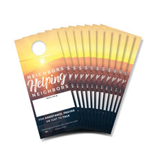 Sunrise Glow Neighbor Door Hanger Pack