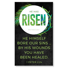 Easter Palm Crown Scripture
